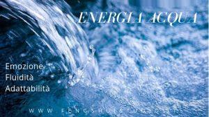 energia acqua feng shui